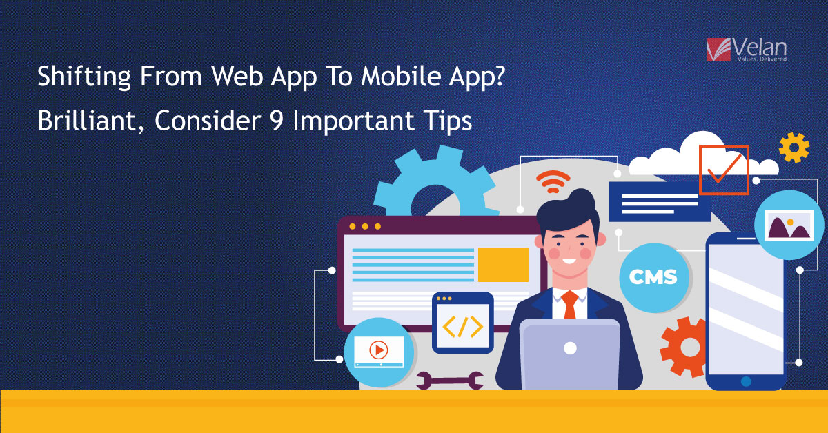 Shifting From Web App To Mobile App