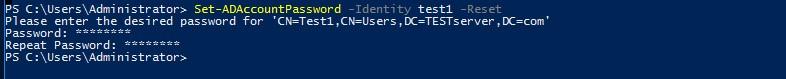 User Password in Microsoft