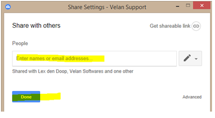 E-mail address to whom you wish to transfer and click on Send