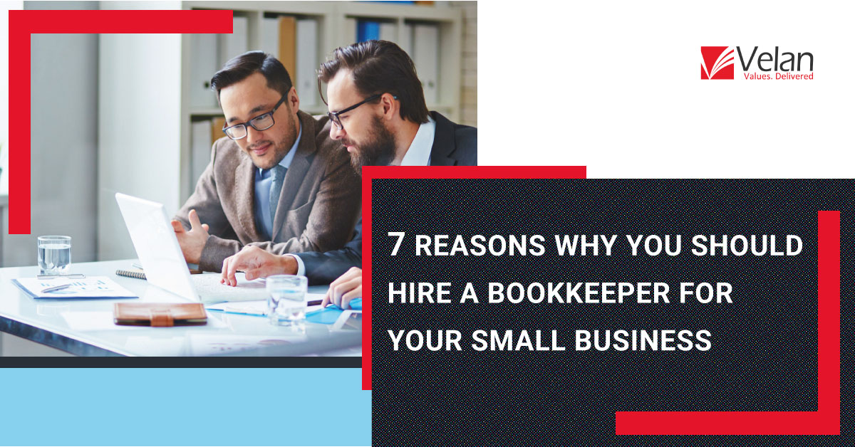 Hire a Bookkeeper for Small Business