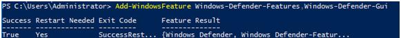 Windows-Defender-GUI