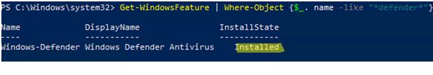 Enable Windows Defender