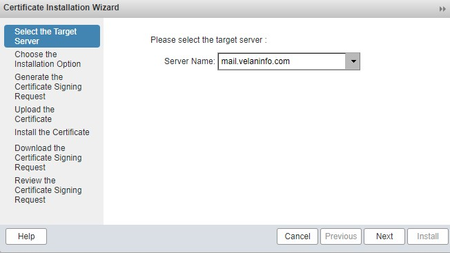 setup SSL for Zimbra Email Server